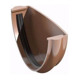 Заглушка ринви ТехноНІКОЛЬ 125 мм коричневий