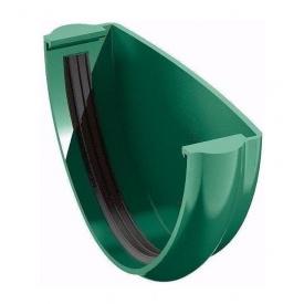 Заглушка желоба ТехноНИКОЛЬ 125 мм зеленый
