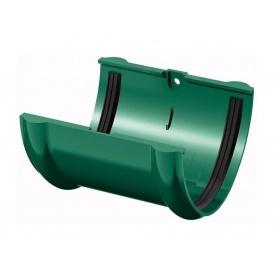 З'єднувач жолоба ТехноНІКОЛЬ 125 мм зелений