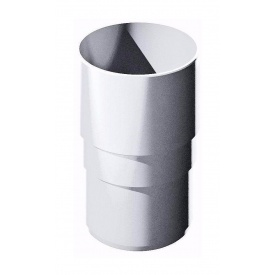 Муфта трубы ТехноНИКОЛЬ 82 мм белый