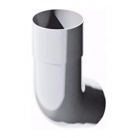 Коліно труби ТехноНІКОЛЬ 135 градусів 82 мм білий