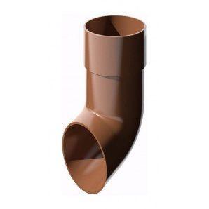 Злив труби ТехноНІКОЛЬ 82 мм коричневий