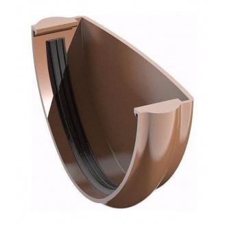 Заглушка желоба ТехноНИКОЛЬ 125 мм коричневый