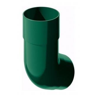 Колено трубы ТехноНИКОЛЬ 135 градусов 82 мм зеленый