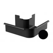 Угол внешний 90 градусов Galeco STAL 2 125/80 125 мм черный