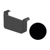 Заглушка левая Galeco STAL 2 125/80 125 мм черный