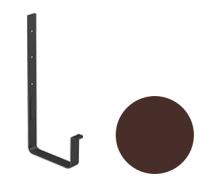 Кронштейн желоба Galeco STAL 2 125/80 125 мм шоколадно-коричневый