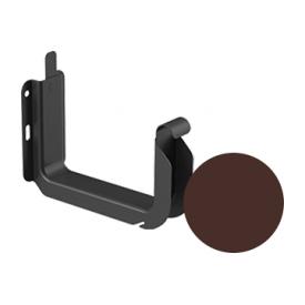Кронштейн ринви універсальний Galeco STAL 2 125/80 125 мм шоколадно-коричневий