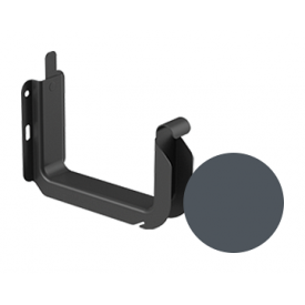 Кронштейн ринви універсальний Galeco STAL 2 125/80 125 мм графітовий