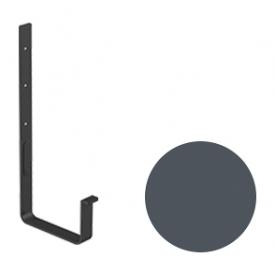 Кронштейн ринви Galeco STAL 2 125/80 125 мм графітовий