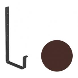 Кронштейн ринви Galeco STAL 2 125/80 125 мм шоколадно-коричневий