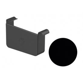 Заглушка ліва Galeco STAL 2 125/80 125 мм чорний