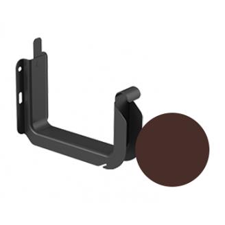 Кронштейн желоба универсальный Galeco STAL 2 125/80 125 мм шоколадно-коричневый