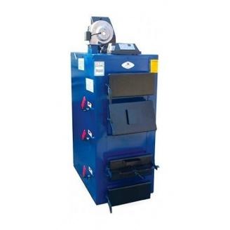 Твердотопливный котел Идмар GK 90 кВт 850х1010х1830 мм синий