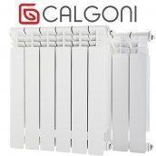 Радиатор биметаллический Calgoni Brava Pro 10 секций белый
