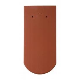 Черепица Braas Опал Глазурь 380х180 мм осенне-красный