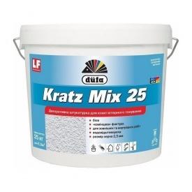 Штукатурка Dufa Kratz Mix25 25 кг білий