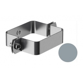 Кронштейн труби внутрішній Galeco BEZOKAPOWY 125/80 80х70 мм срібний