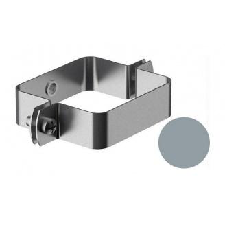 Кронштейн трубы внутренний Galeco BEZOKAPOWY 125/80 80х70 мм серебряный