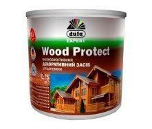 Декоративное средство Dufa Wood Protect 2,5 л белый