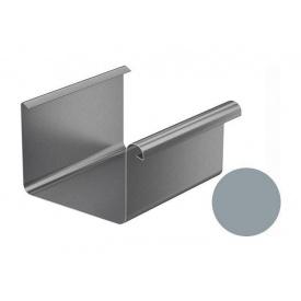 Ринва водостічна Galeco BEZOKAPOWY 125/80 125х4000 мм срібний