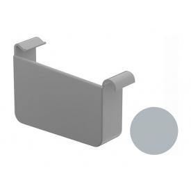Заглушка ліва Galeco BEZOKAPOWY 125/80 125 мм попелястий