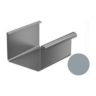 Желоб водосточный Galeco BEZOKAPOWY 125/80 125х4000 мм серебряный