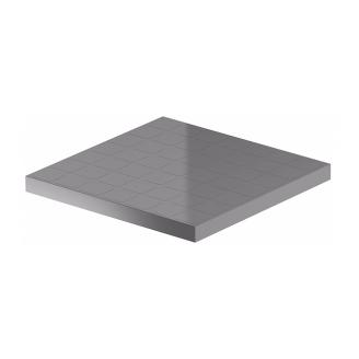 Крышка дождеприемника Galeco BEZOKAPOWY A15 300x300 мм светло-серый