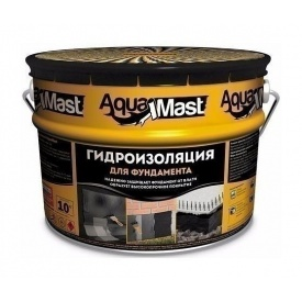 Мастика ТехноНІКОЛЬ AquaMast бітумна 10 кг