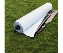 Чорно-біла силосна плівка для укриття силосних ям і траншей Планета Пластик (120 мкм, ширина 12 м, довжина 50 м)