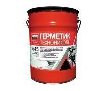 Герметик ТехноНІКОЛЬ №45 бутил-каучуковий 16 кг білий