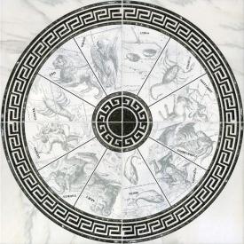 Декор-панно Inter Cerama ALON 86x86 см серый