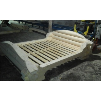 Ліжко дерев'яне 2360х2060 мм