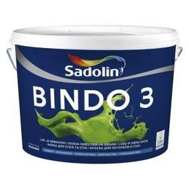 Краска для стен Sadolin Bindo 3 2,5 л белая