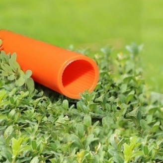 Труба Планета Пластик захисна поліетиленова 4,5х50 мм