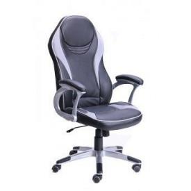 Крісло АМФ Meteor 650x1160 мм чорне