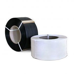 Стрічка пакувальна ТМ Кайлас-СМ ПП 19х0,9 мм 1,0 км біла