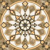 Декор-панно Inter Cerama CAESAR 86x86 см коричневый