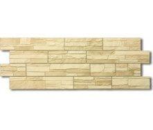 Фасадная панель Docke STEIN песчаник 1,196х0,426 м янтарный