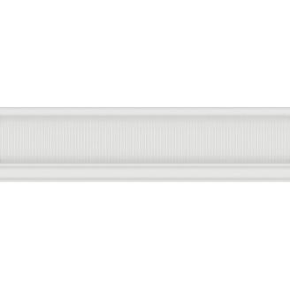 Бордюр Inter Cerama ARABESCO 6x23 см білий (БО 131 061)