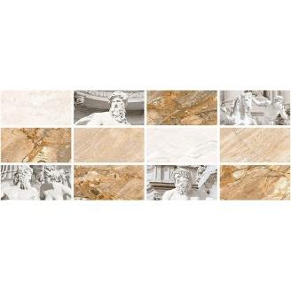 Декор Inter Cerama CAESAR 23x60 см серый светлый (Д 117 071-1)