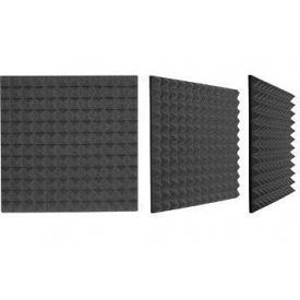 Акустический поролон 2Д/70 пирамида 70х1000х1000 мм