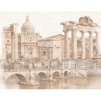 Декор-панно Inter Cerama TREVISO 46x60 см серый