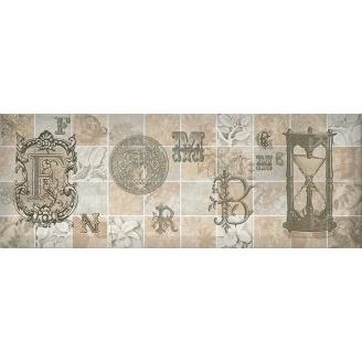 Декор Inter Cerama ANTICA 15x40 см сірий (Д 128 072-4)