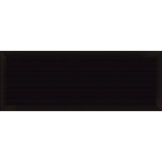Керамічна плитка Inter Cerama PERGAMO для стін 15x40 см чорний