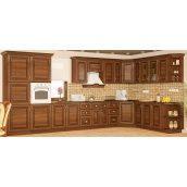 Кухня Мебель-Сервис Франческа 2,0 м без столешницы коричневая