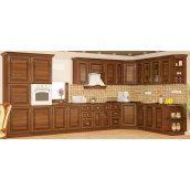 Кухонный гарнитур Мебель-Сервис Франческа модульный вишня портофино