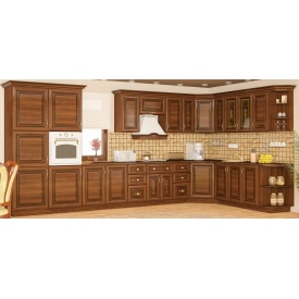 Кухонный гарнитур Мебель-Сервис Франческа 2,6 м вишня портофино
