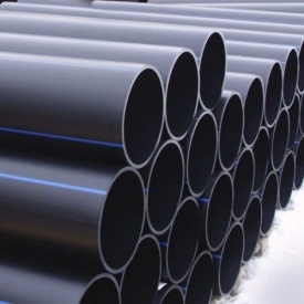 Труба Планета Пластик SDR 17 полиэтиленовая для холодного водоснабжения 125х7,4 мм