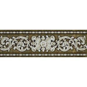 Бордюр Inter Cerama STORIA 13,7x43 см коричневый